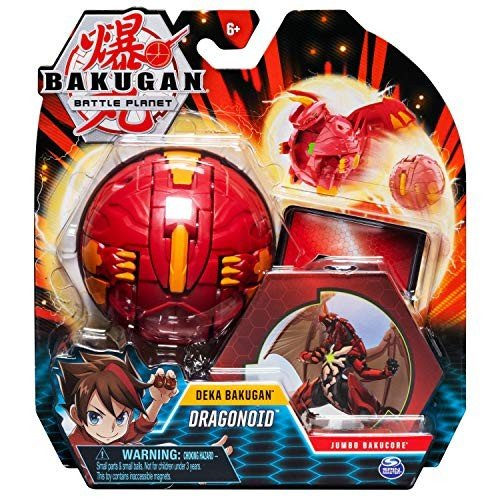 Bakugan Deka, Dragonoid, Jumbo Collectible Transforming Figure, for Ag