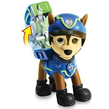 Paw Patrol Action Pack Pups Figure Set, 3 Pack, Ryder, Chase & Marshal