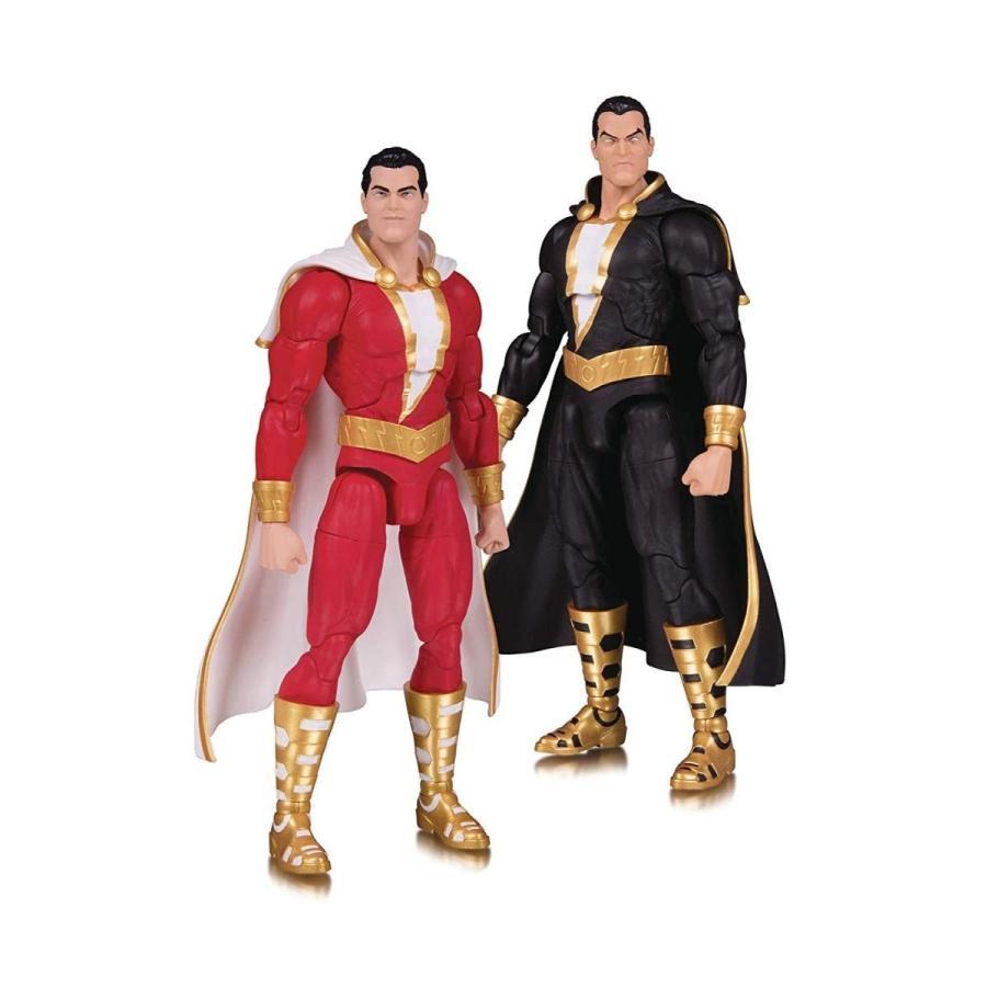 DC Collectibles Essential: Shazam & 黒 Adam Action Figure