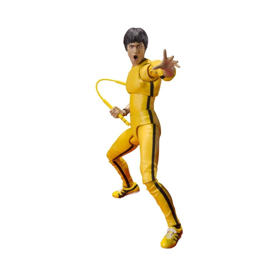 Bandai Tamashii Nations S.H. Figuarts Bruce Lee (黄 Track Suit) Ac