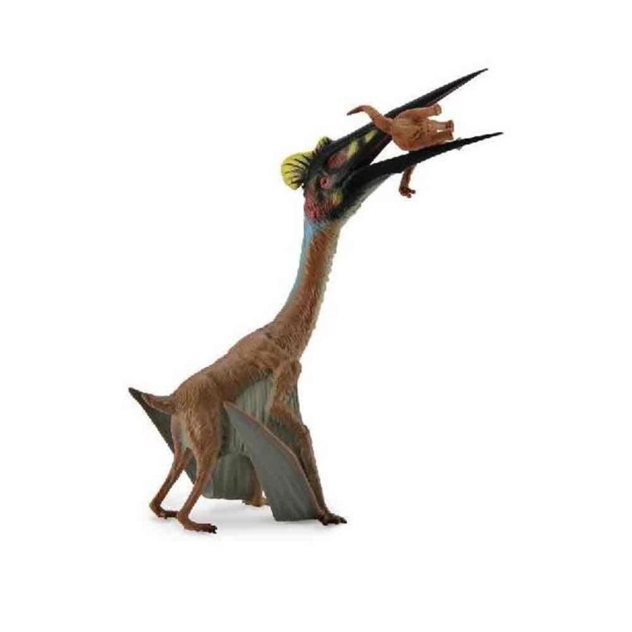 CollectA Prehistoric Life Quetzalcoatlus with Prey Dinosaur Toy Figure