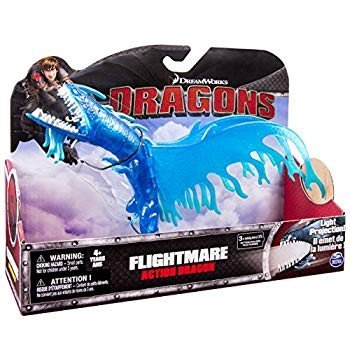 Dreamworks Dragons Action Dragon Figure, Flightmare