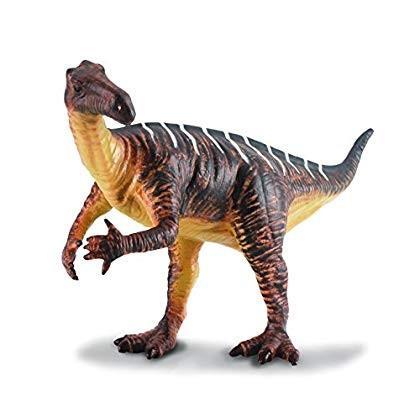 Collecta Prehistoric Life Iguanodon (褐色) Vinyl Toy Dinosaur Figure