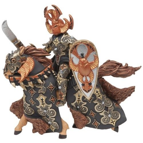 Papo Dark Beetle Warrior and Horse
