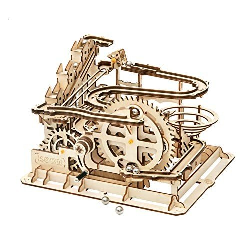 RoWood 3D Wooden Marble Run Puzzle Craft Toy, Gift for Adults & Teen B