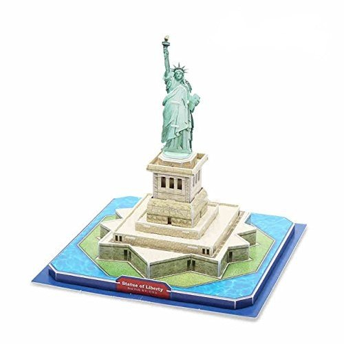 Liberty Imports Statue of Liberty 3D Puzzle, 39 Pieces