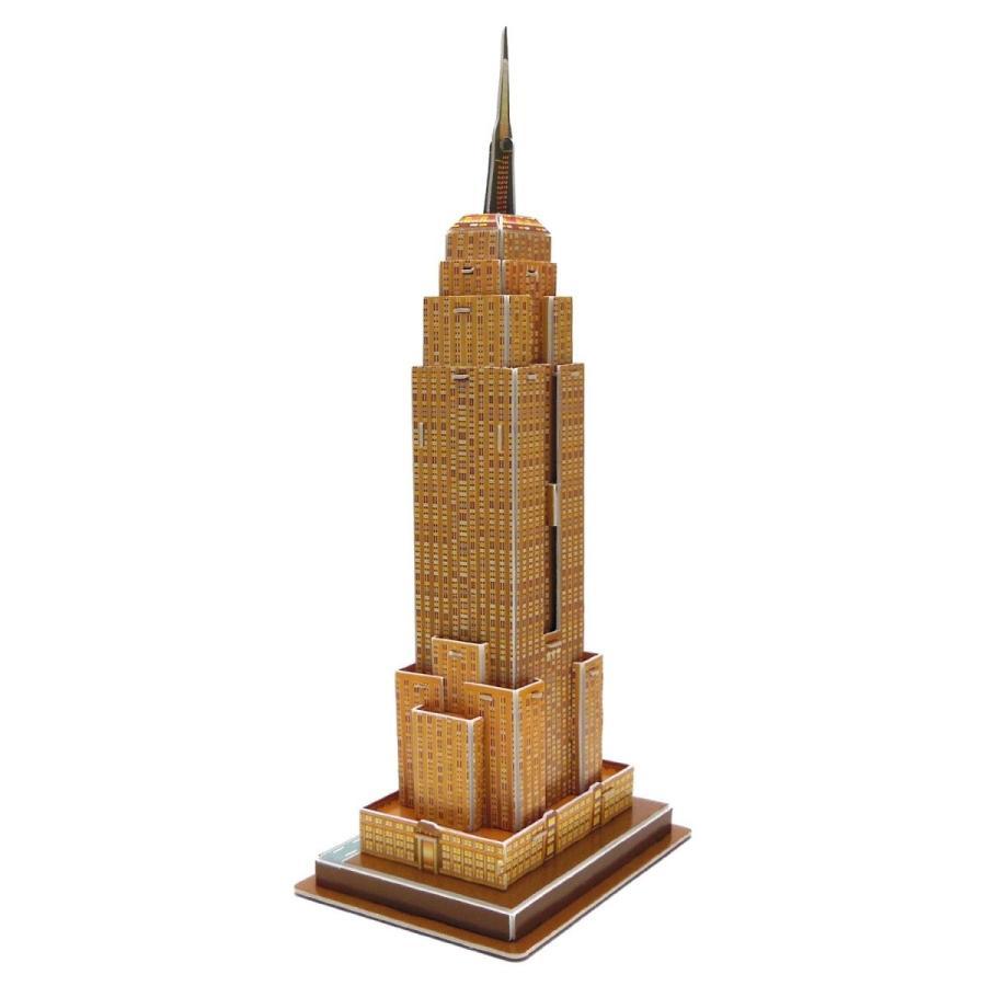 Creative 3D Puzzle Paper Model Empire State Building DIY Fun & Educati