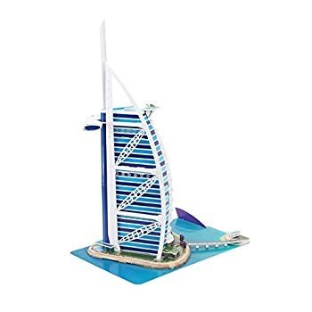 CubicFun World's Great Architectures MC101h Dubai Burjal AI Arab 3d Pu