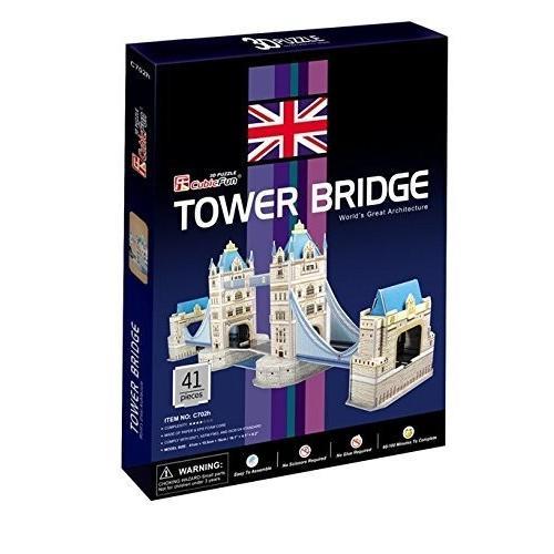 CubicFun C702H Tower Bridge Puzzle