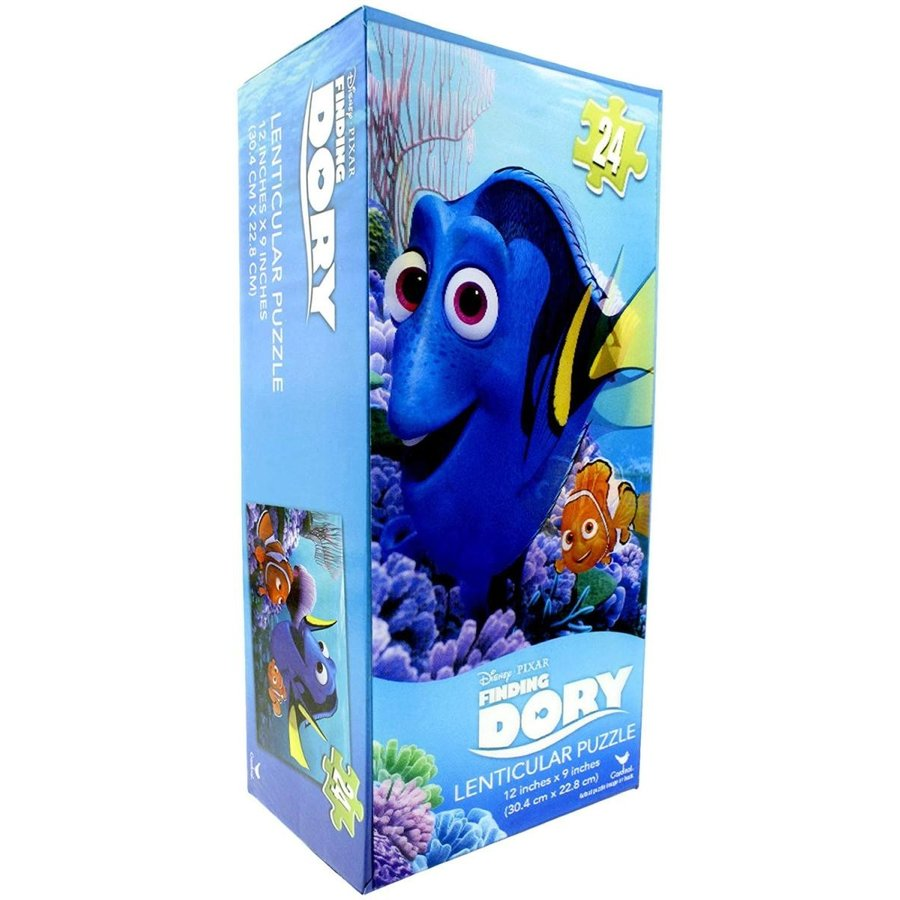 Finding Dory Lenticular Puzzle 12 inches x 9 inches (30.4 cm x 22.8 cm