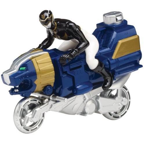 Power Rangers Megaforce Sea Lion 黒 Ranger Cycle