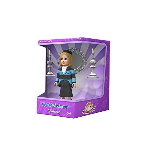 Glatt Play The Shpielmans-Mommy Shpielman Action Figure