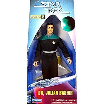 9 Dr. Julian Bashir Action Figure - Warp Factor Series 2 - Star Trek: