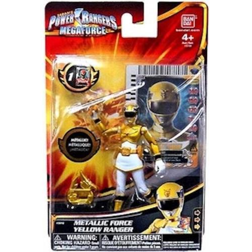 Power Rangers Megaforce Metallic Force 黄 Ranger