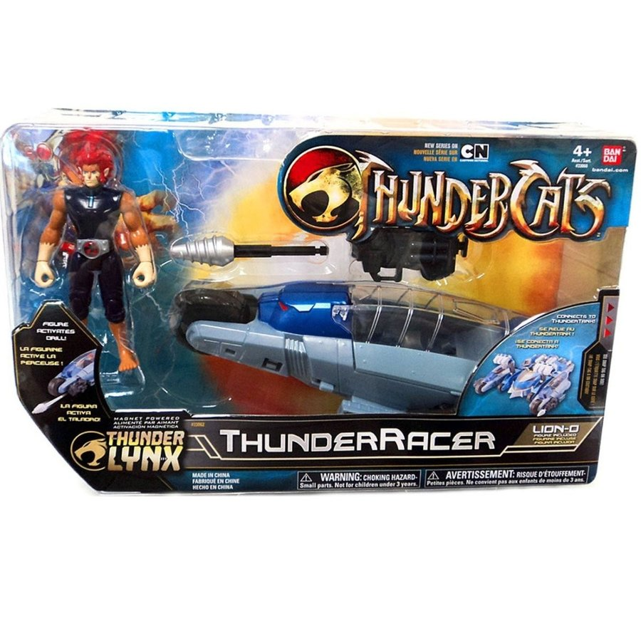 Bandai Thundercats ThunderRacer with Lion-O