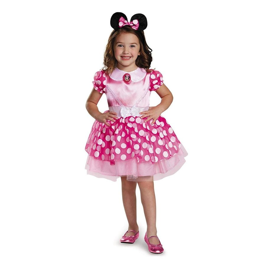 Disguise ピンク Minnie Classic Tutu Costume, Small (2T)