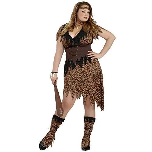 Cave Beauty Adult Costume - Plus Size