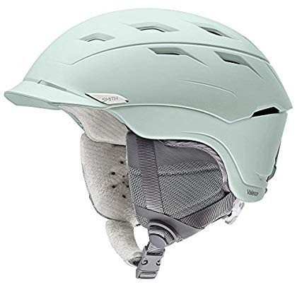 Smith Optics Valence Women's Ski Snowmobile Helmet - Matte Ice/Small