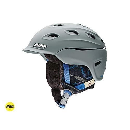 Smith Optics Vantage MIPS Women's Snow Helmet (Matte Frost Woolrich, L