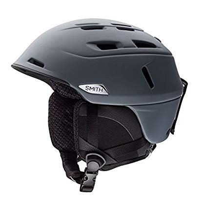 Smith Optics Camber MIPS Adult Ski Snowmobile Helmet - Matte Charcoal/