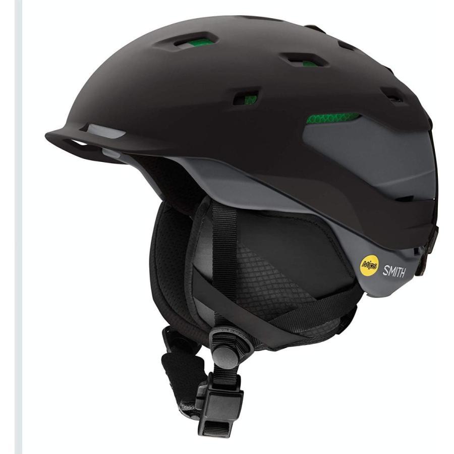 Smith Quantum Mips Snow Helmet Matte 黒 Charcoal Size Large