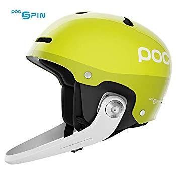 POC Artic SL Spin, Slalom Helmet, Hexane 黄, XL/XXL