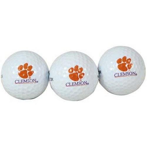 Team Effort Clemson Tigers Golf Ball 3 Pack