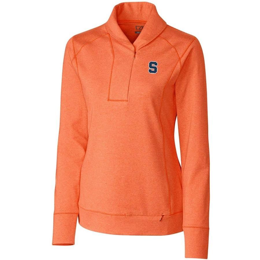 NCAA Syracuse オレンジ Genre Polo Shirt, X-Small, College オレンジ Heather