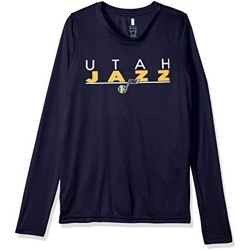 Outerstuff NBA NBA Youth Boys Utah Jazz Tactical Stance Long Sleeve Pe