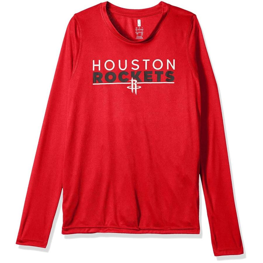 Outerstuff NBA NBA Youth Boys Houston Rockets Tactical Stance Long Sle