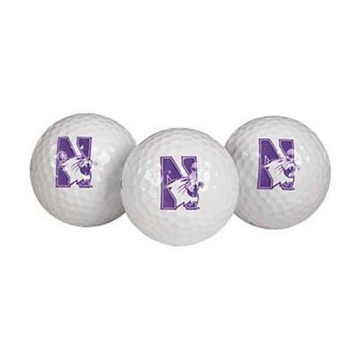 Team Effort Northwestern Wildcats Golf Ball 3 Pack