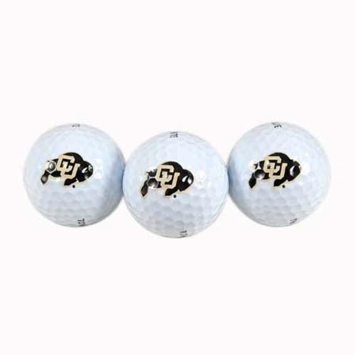 Team Effort Colorado Buffaloes Golf Ball 3 Pack