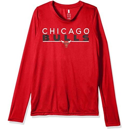 Outerstuff NBA NBA Youth Boys Chicago Bulls Tactical Stance Long Sleev