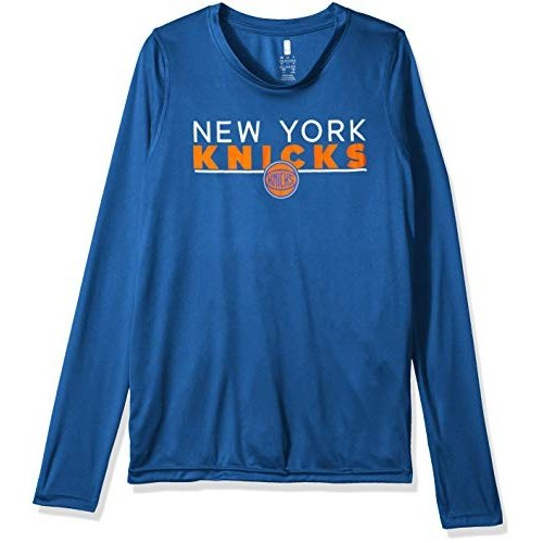Outerstuff NBA NBA Youth Boys New York Knicks Tactical Stance Long Sle