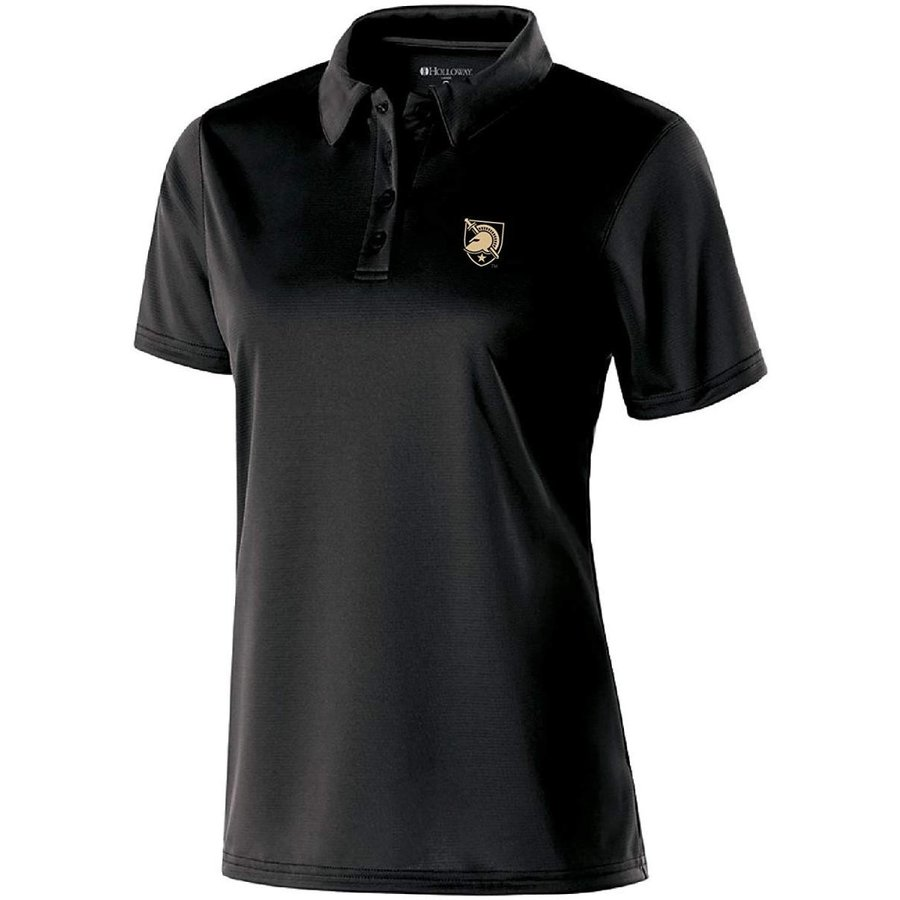 NCAA Army 黒 Knights Women's Shift Polo, XX-Large, 黒