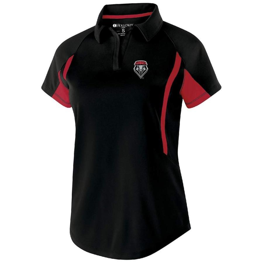 Ouray Sportswear NCAA New Mexico Lobos Women's Avenger Polo, Medium, B