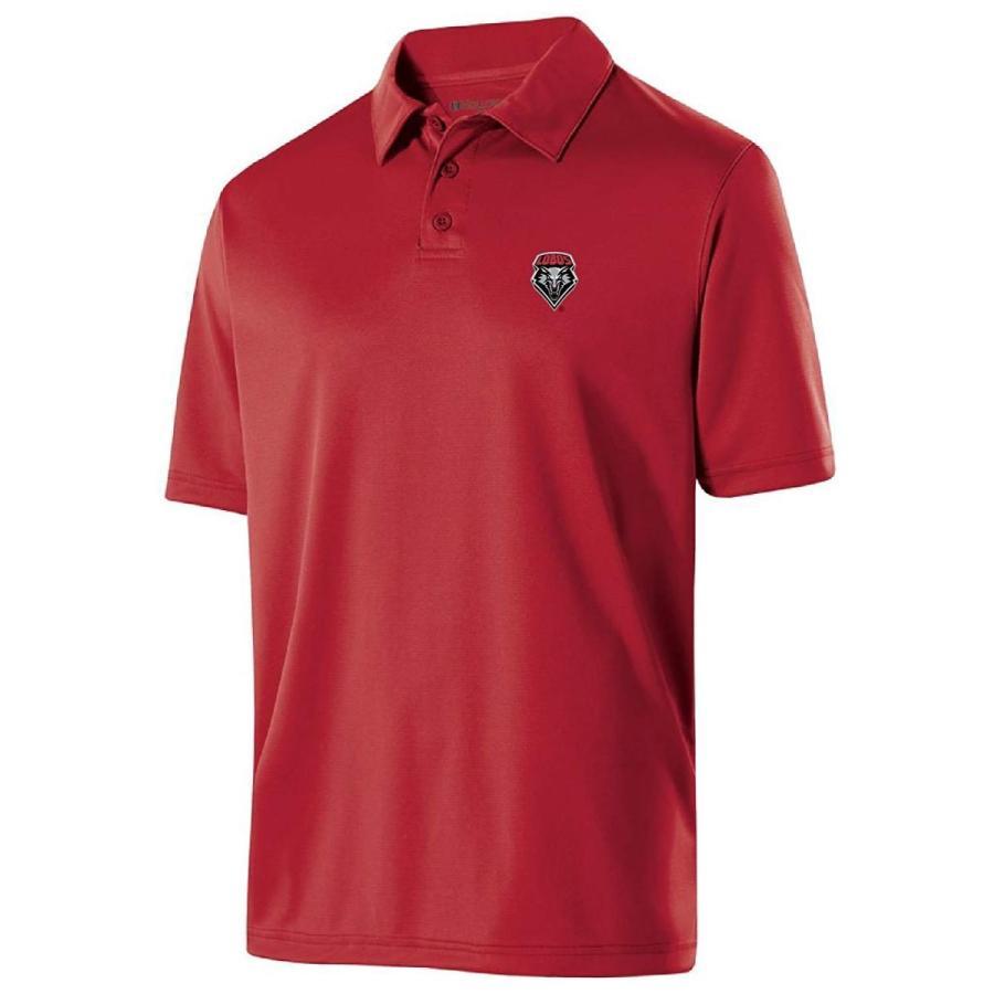 Ouray Sportswear NCAA New Mexico Lobos Men's Shift Polo, Medium, Scarl