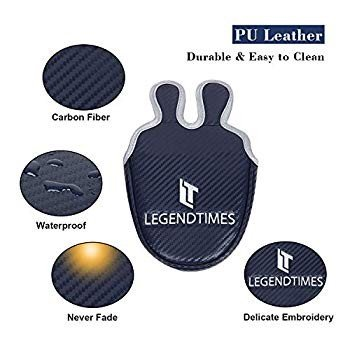LEGENDTIMES Mallet Putter Headcover, Navy Carbon Fiber Putter Covers f