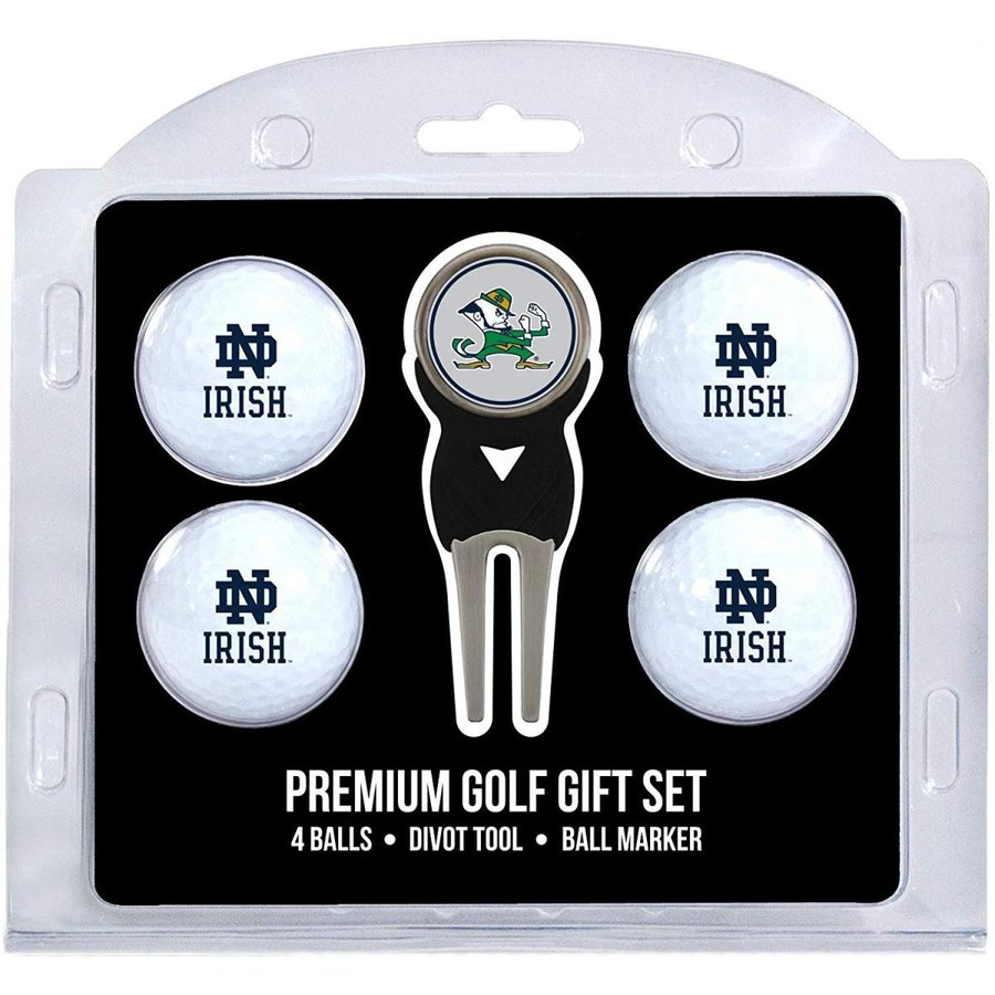 Team Golf NCAA Notre Dame Fighting Irish Regulation Size Golf Balls (4