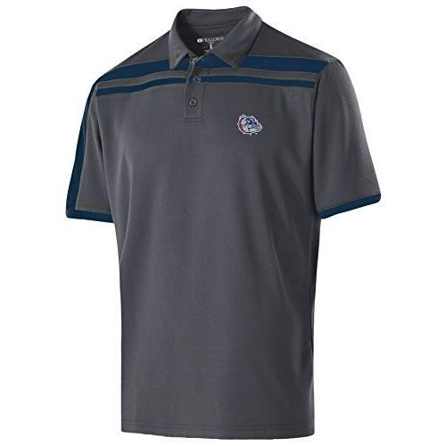 Ouray Sportswear NCAA Gonzaga Bulldogs Men's Charge Polo, Medium, Carb