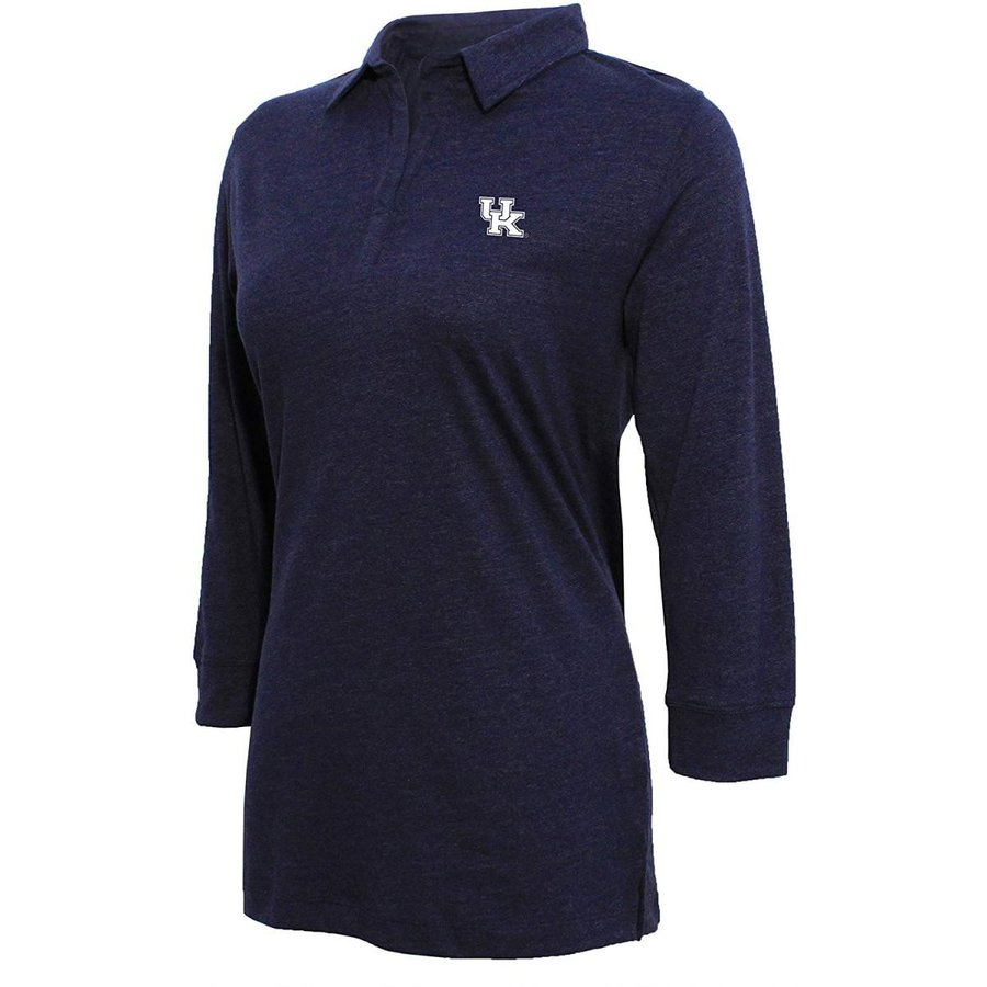 NCAA Kentucky Wildcats Women's Campus Specialties 3/4 Sleeve Jersey Po