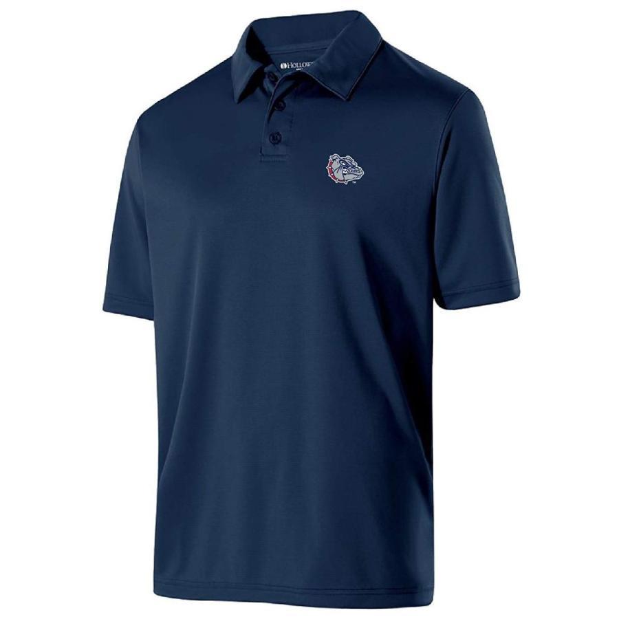 Ouray Sportswear NCAA Gonzaga Bulldogs Men's Shift Polo, Large, Navy
