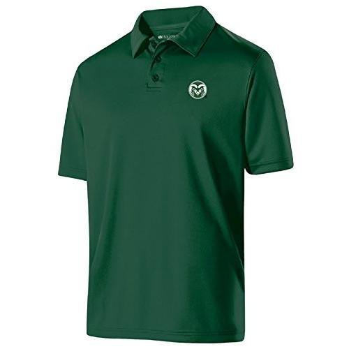 Ouray Sportswear NCAA Colorado State Rams Men's Shift Polo, Medium, Fo