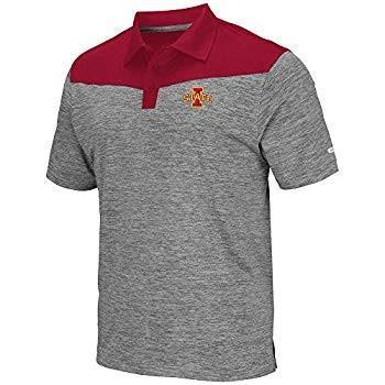 Mens Iowa State Cyclones Polo Shirt - XL