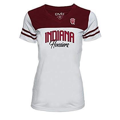 Old Varsity Brand NCAA Indiana Hoosiers Juniors Plus Football Tee, 3X,