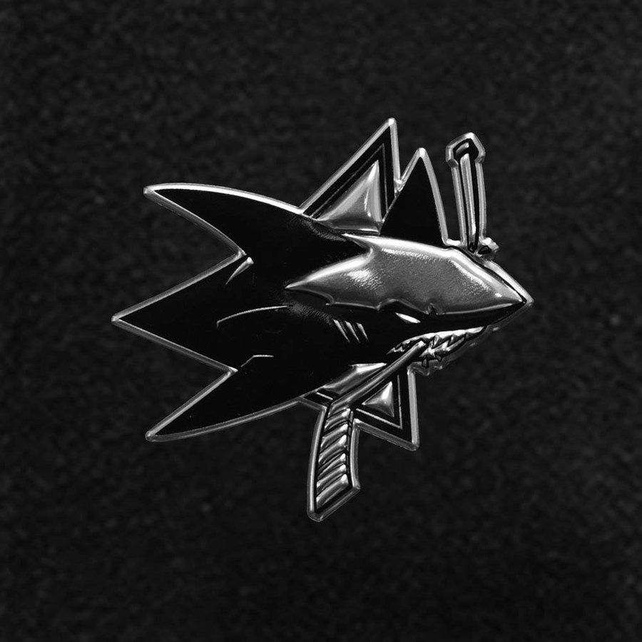 Levelwear LEY9R NHL San Jose Sharks Men's Reign Dart Polo, Small, Blac