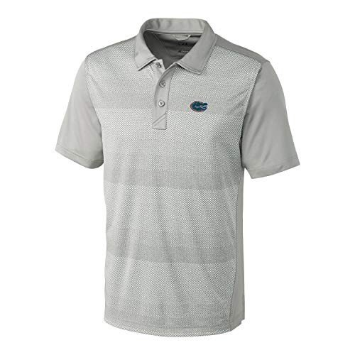 NCAA Florida Gators Short Sleeve Crescent Print Polo, 3X-Large, Iced