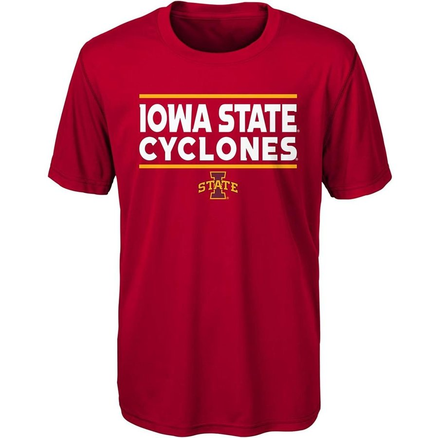 Gen 2 NCAA Iowa State Cyclones Youth Boys Short Sleeve Performance Tee