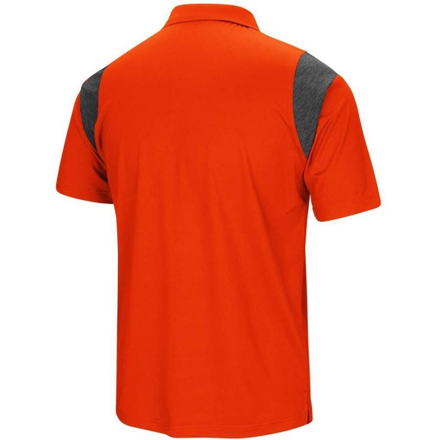 Clemson University Tigers Men's Polo Short Sleeve Polo Shirt (Large)