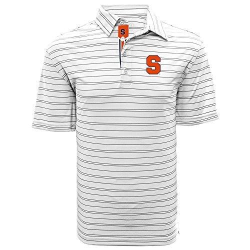 Levelwear LEY9R NCAA Syracuse Orange Men's Deion Banner Stripe Polo, L